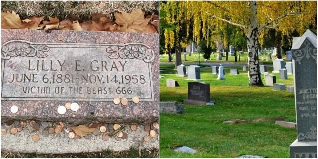 Загадка могилы Лилли Э.Грей - «Жертвы Зверя 666» - Паранормальные новости