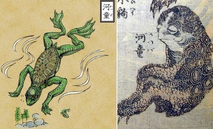 Житель Японии рассказал как увидел легендарного речного монстра Каппу - Паранормальные новости