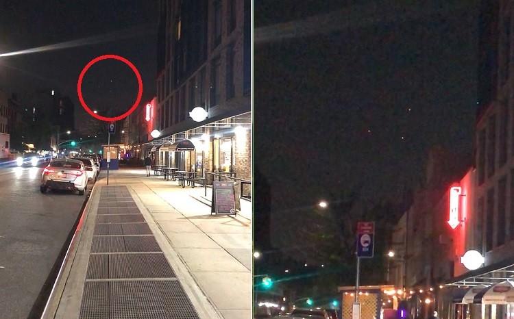 НЛО в виде огромного треугольника пролетел над домами Бруклина (Нью-Йорк) - Паранормальные новости