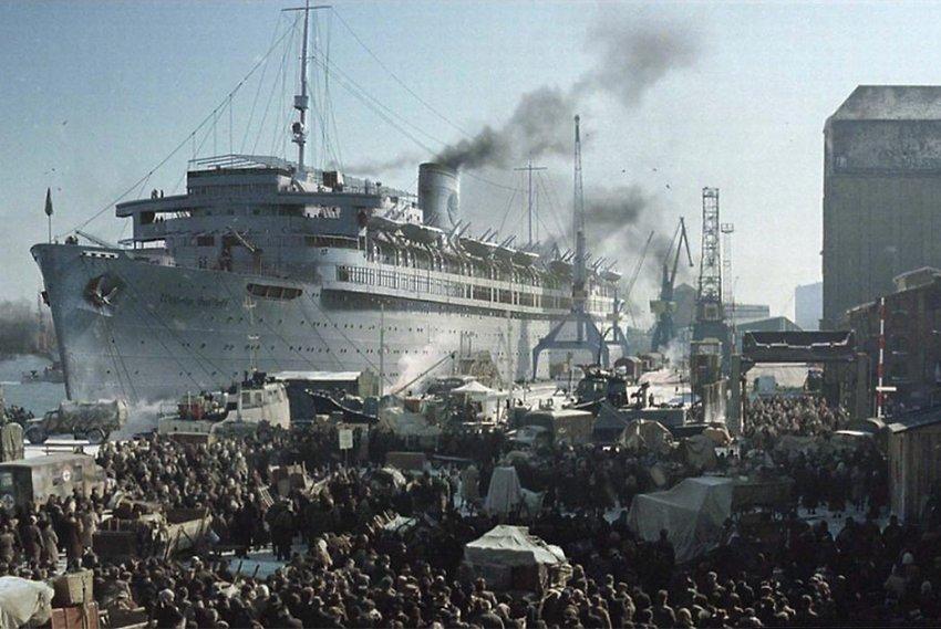 Титаник Третьего рейха «Вильгельм Густлофф» — судьба корабля-солнца