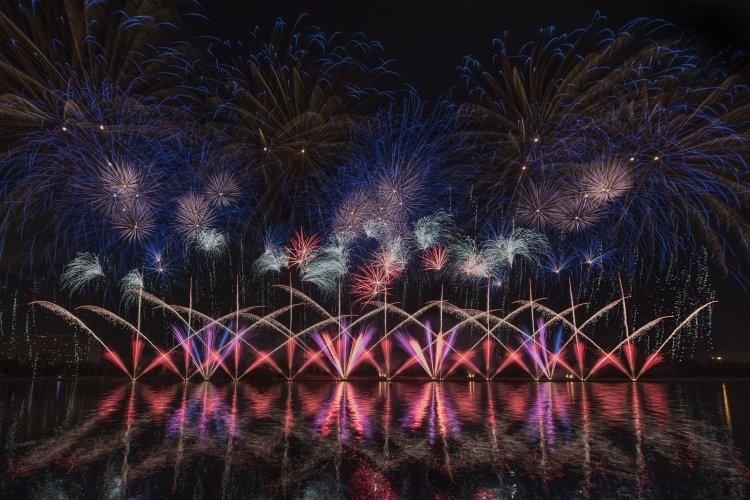 В Олимпийском парке Сочи 18 июня 2021 года стартовал «Парад фейерверков», расписание фестиваля