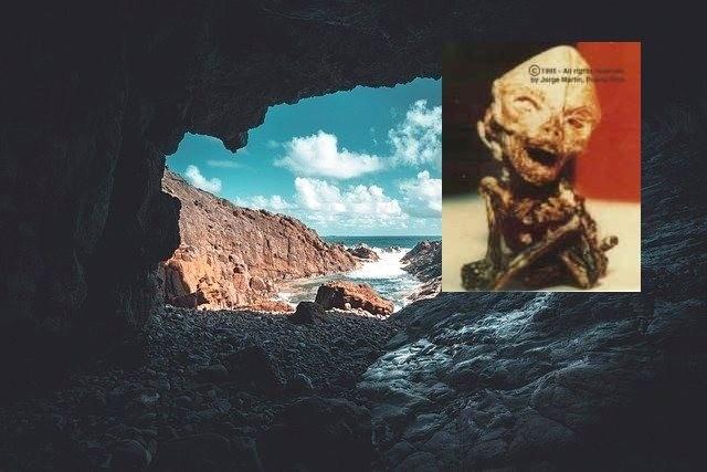Уфологические тайны Пуэрто-Рико: Подземная база, подводный туннель и тело убитого пришельца
