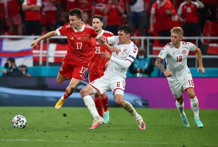 Россия и Дания, Евро-2020: как сыграли россияне в Копенгагене, кто победил, какой счёт