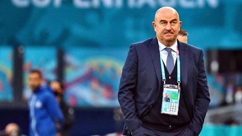 Будущее главного тренера сборной России Черчесова обсудят на собрании РФС