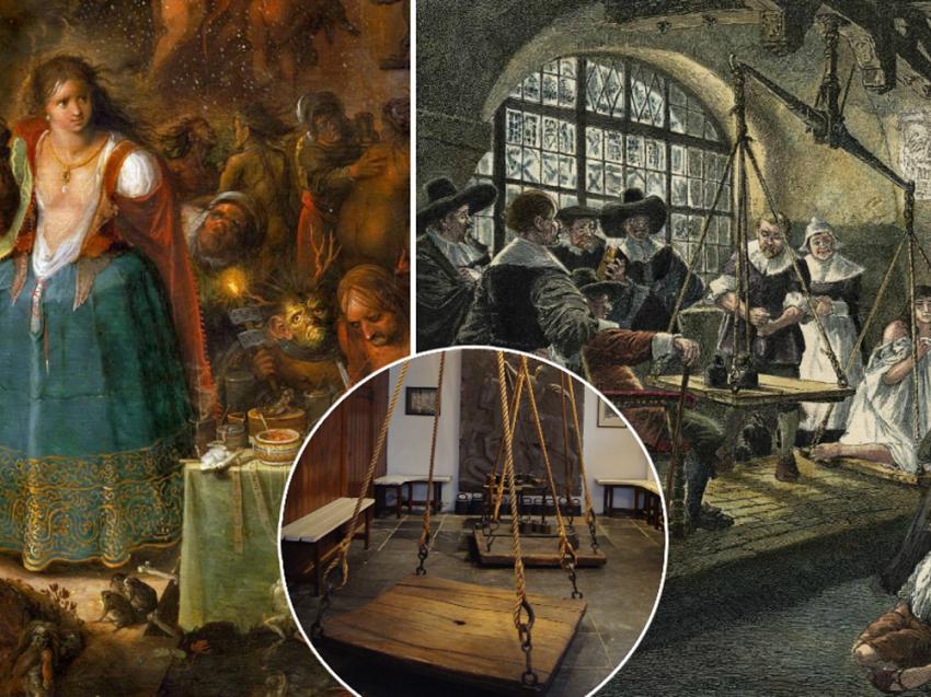 Идеальный вес в Средневековье — сколько весила ведьма?