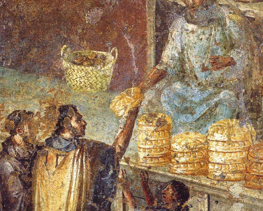 Чем питались люди в Древнем Риме