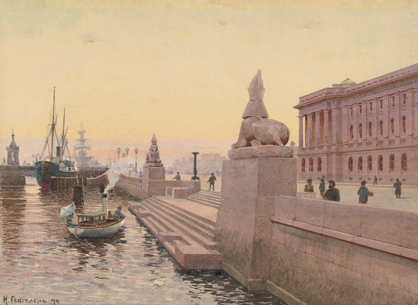 История петербургских сфинксов пестрит загадками