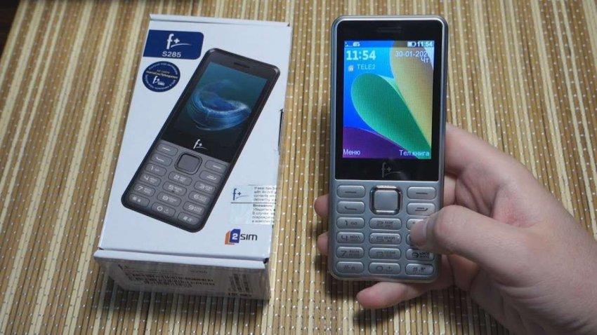 Кнопочные мобильные телефоны F+. Топ лучших предложений