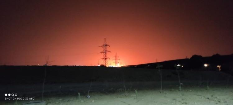 Загадочный взрыв в Каспийском море