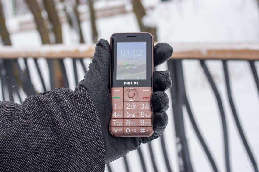 Кнопочные мобильные телефоны Philips. Топ лучших предложений