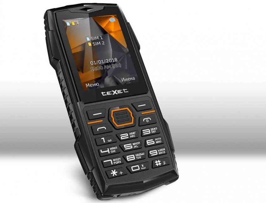 Кнопочные мобильные телефоны teXet. Топ лучших предложений