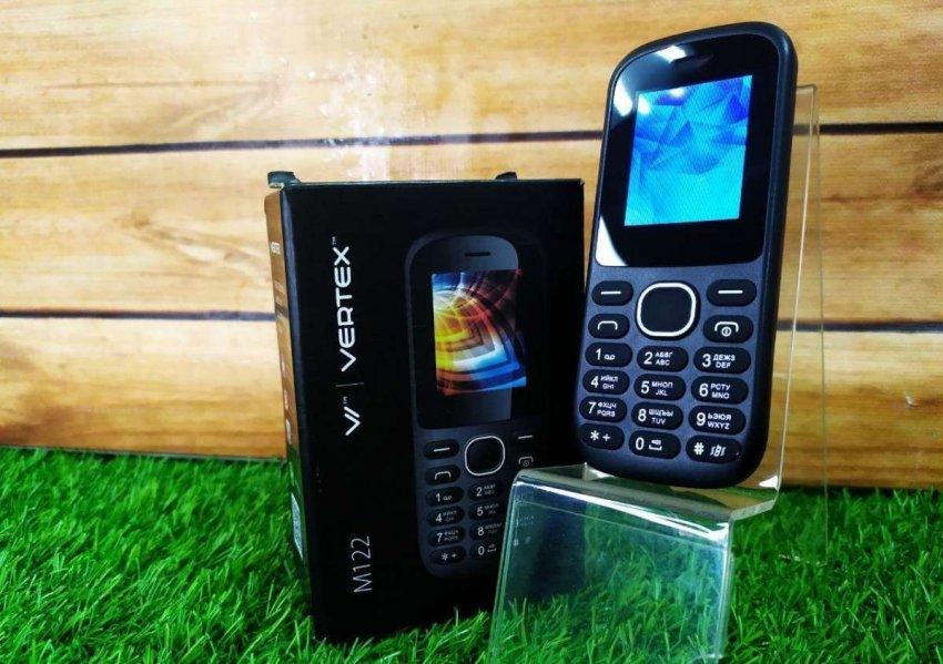 Кнопочные мобильные телефоны VERTEX. Топ лучших предложений
