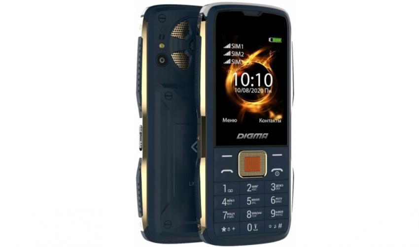 Кнопочные мобильные телефоны Digma. Топ лучших предложений