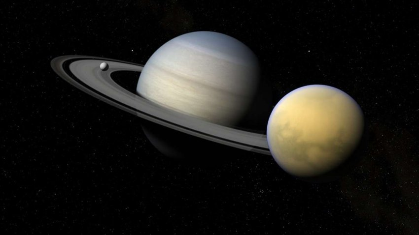 Квадрокоптер Dragonfly будет изучать Титан Сатурна