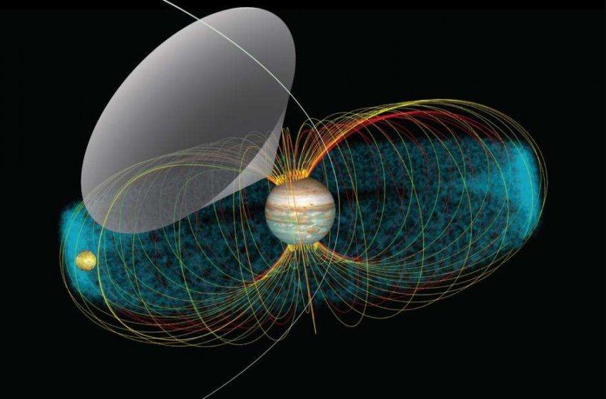 Космический корабль Juno настроился на странные радиоволны вулканической луны Ио