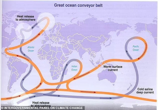 Гольфстрим самый слабый за последнее тысячелетие: Западную Европу ждут сильные морозы?