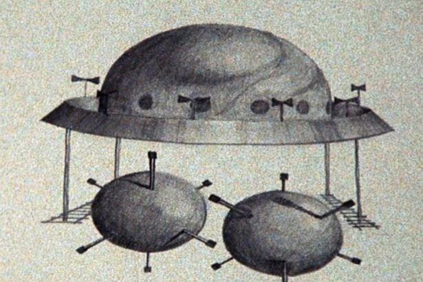 Из куполообразного объекта появились «сферы с шипами» и похитили шотландца