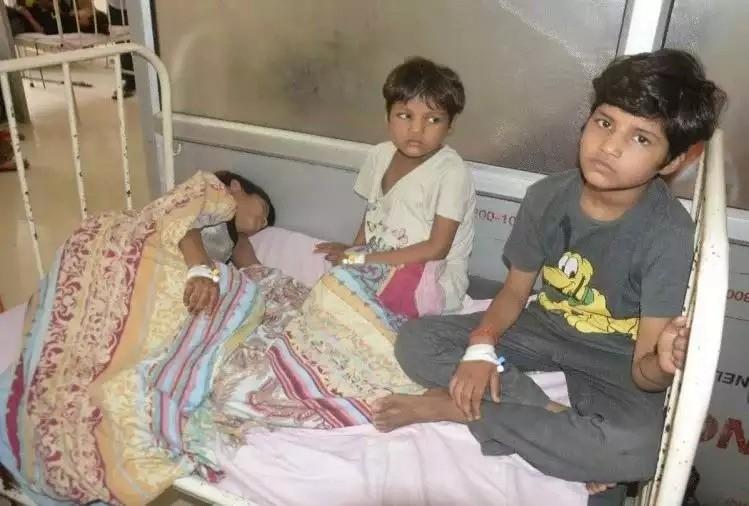 В Индии за неделю от неизвестной болезни скончалось 68 человек, большинство - дети