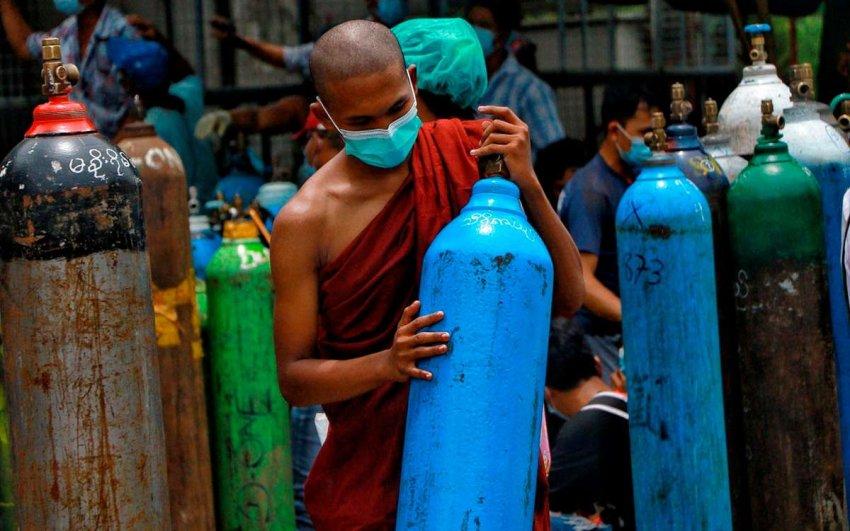 Идеальный шторм событий превращает Мьянму в государство-суперраспространителя COVID
