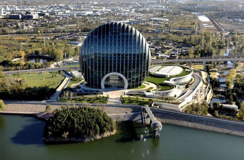 Китай: причудливые архитектурные изыски Поднебесной