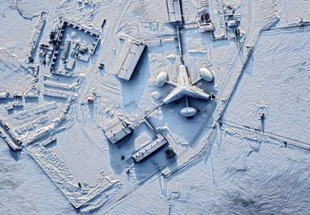 Уфолог случайно обнаружил в Арктике российскую базу и принял ее за ангар для НЛО