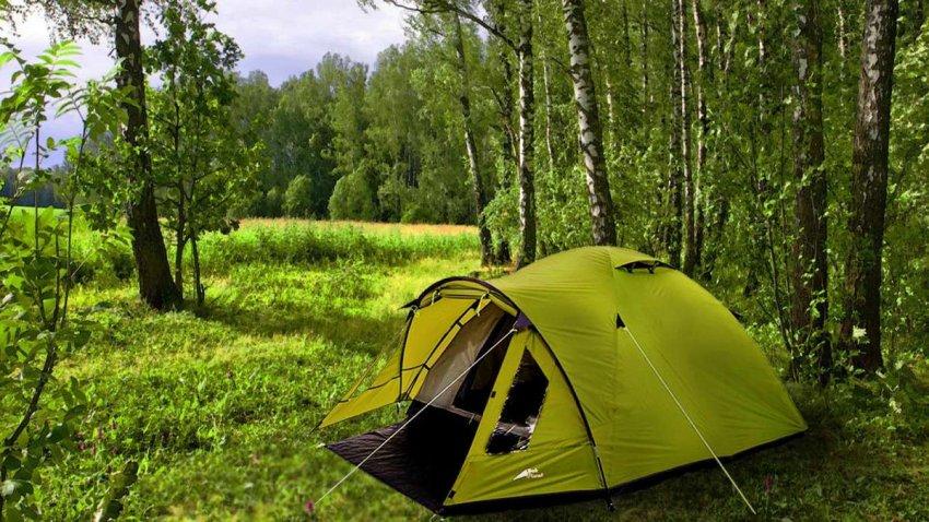 ТОП 10 туристических палаток