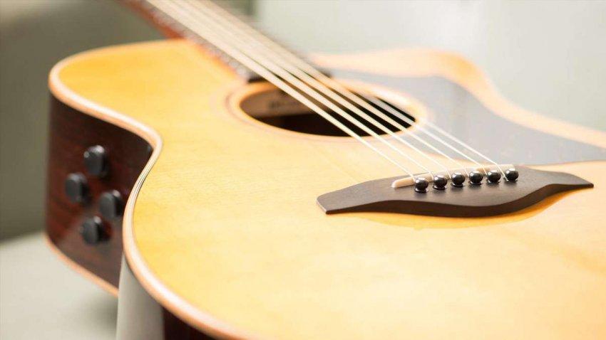 Топ 10 лучших акустических гитар Yamaha