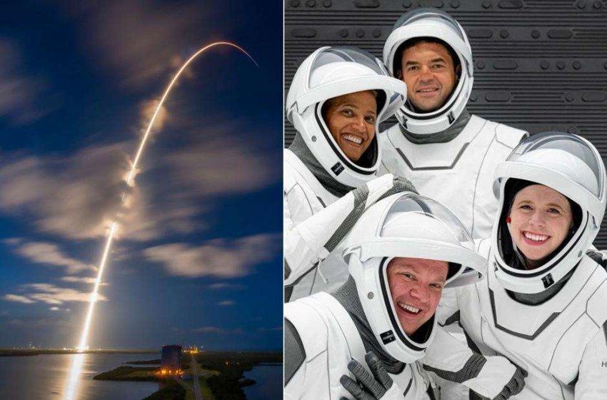 Любительская миссия: SpaceX успешно запустила свою первую гражданскую космическую миссию