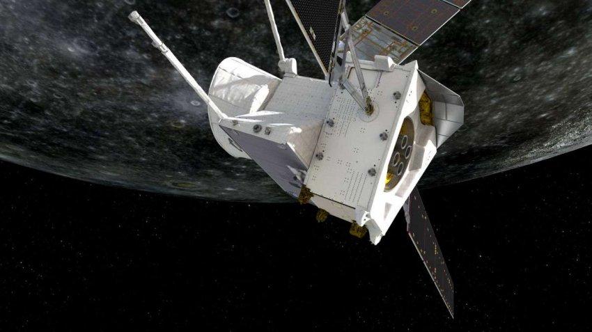 Первые фотографии BepiColombo крупным планом с расстояния 200 км над Меркурием намекают на ответы на секреты планеты